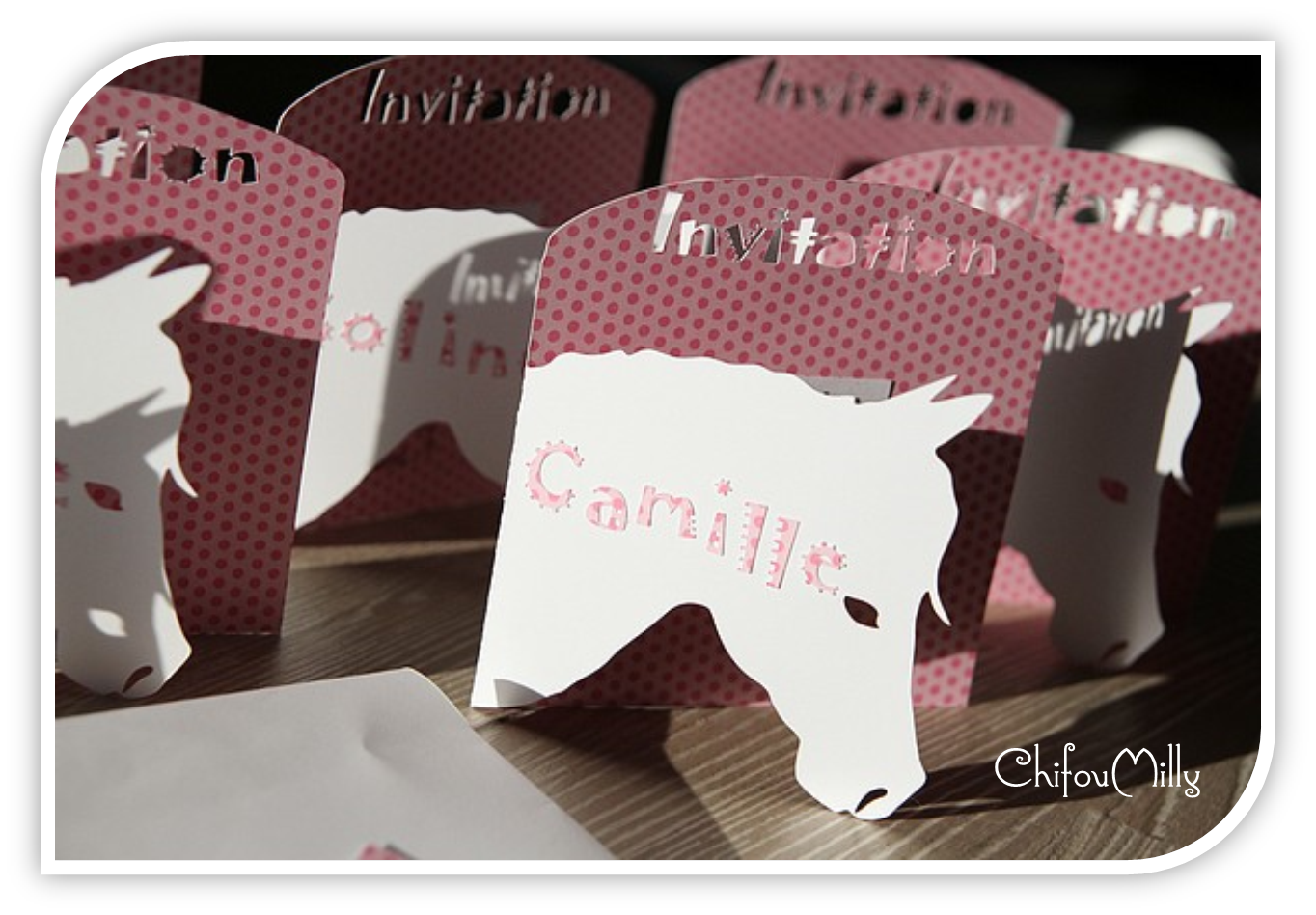 Cartes d'invitation | ChifouMilly
